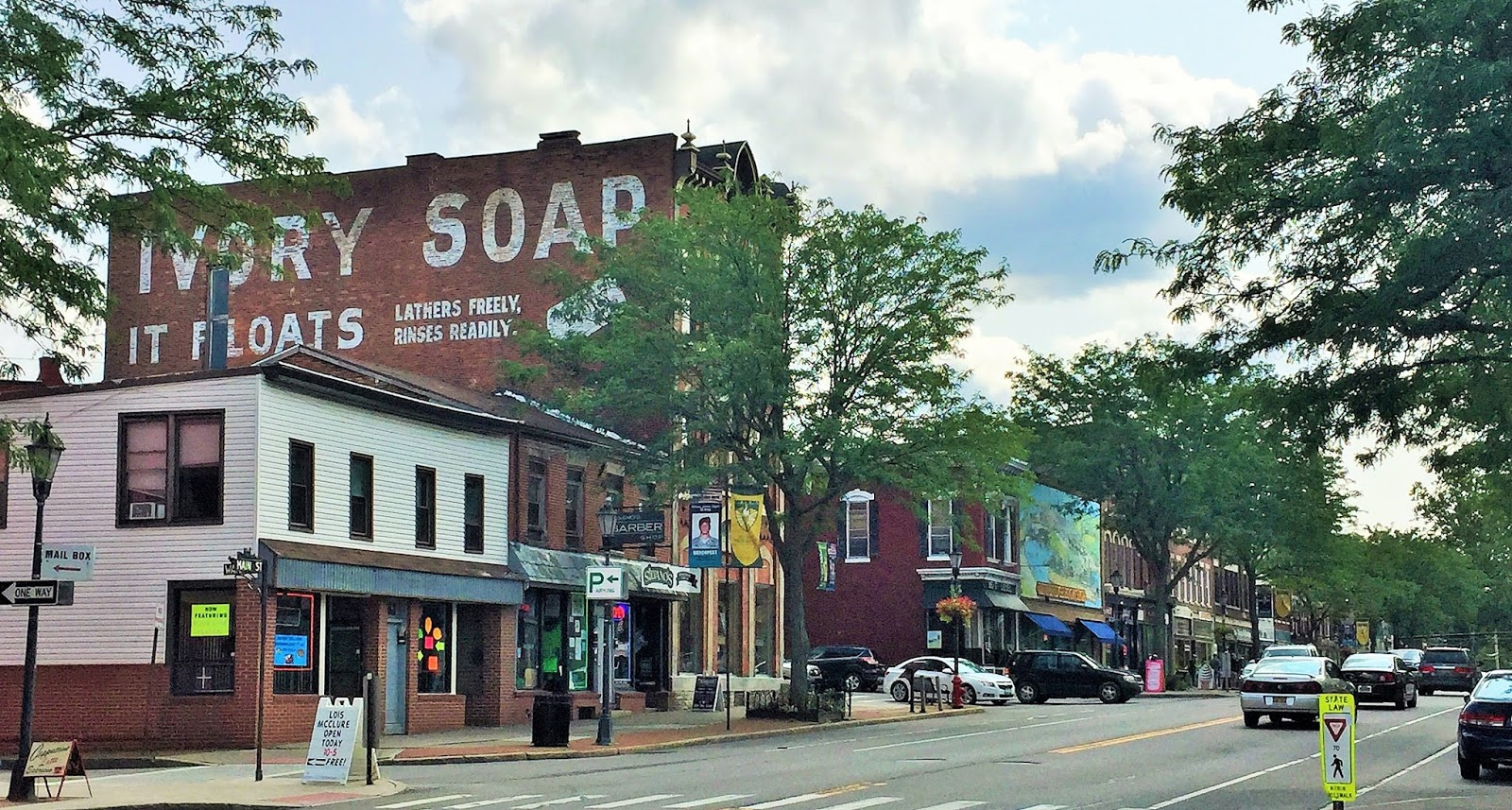 Down the Road: Back in Brockport, New York