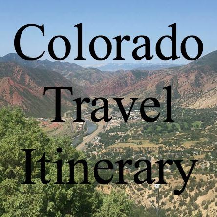 Colorado Travel Itinerary