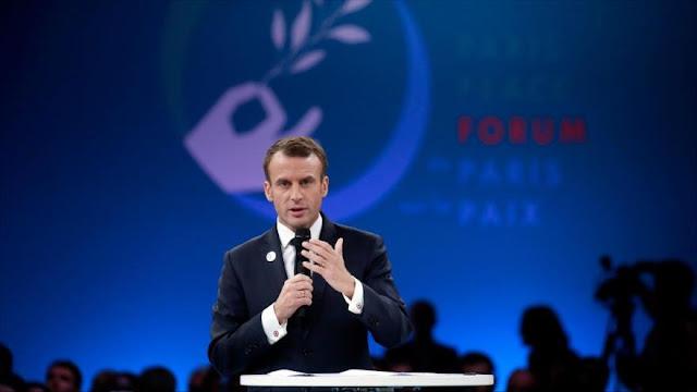 Macron: Europa no debe gastar más presupuesto en armas de EEUU