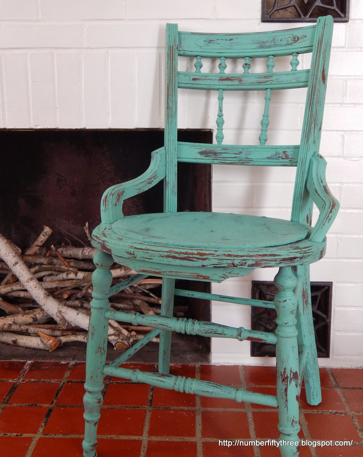 Number Fifty-Three: Distressed, Chalk Painted Furniture