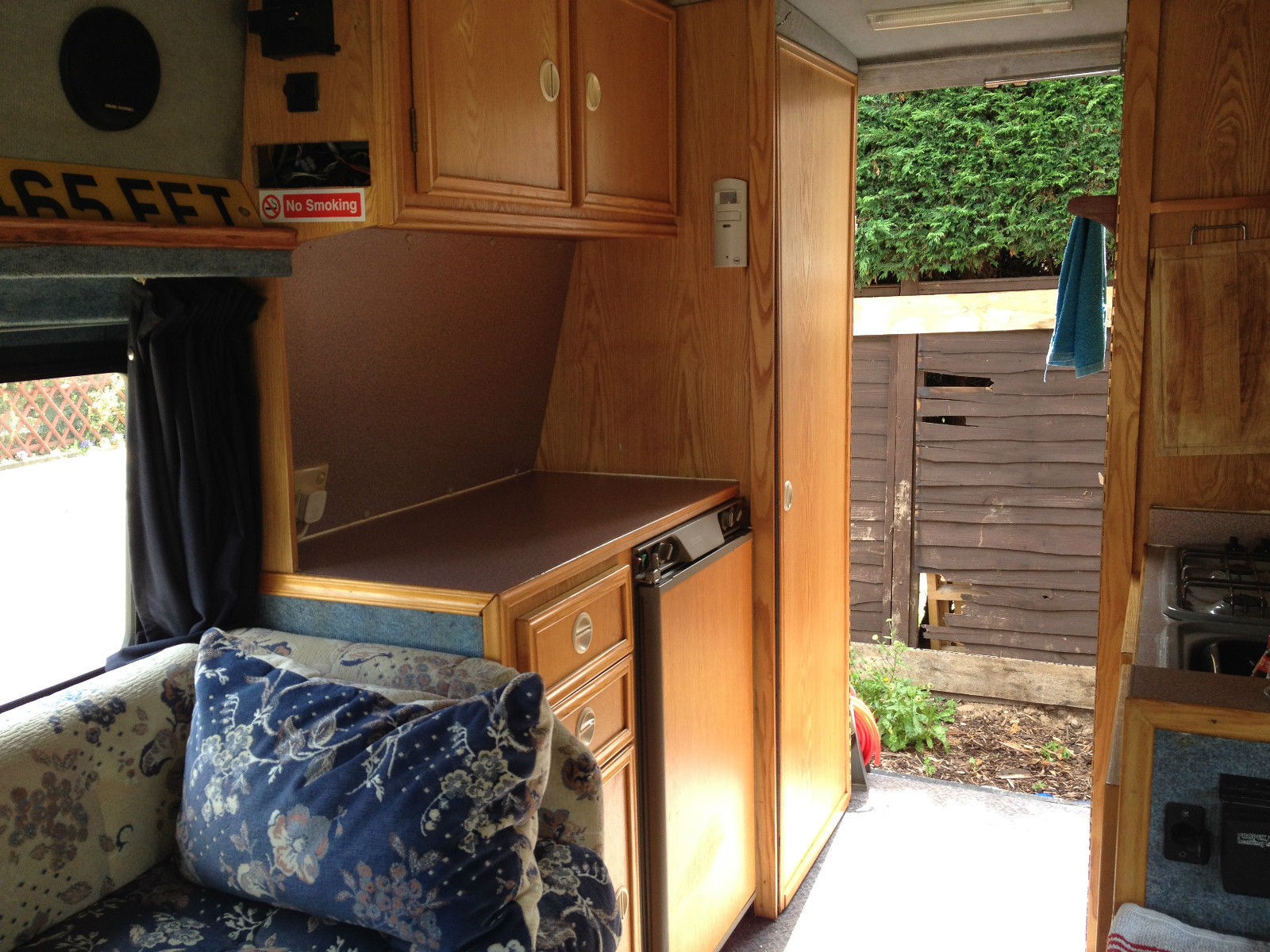 Interior: Used RVs 1993 VW LT35 Campervan For Sale For Sale By Owner