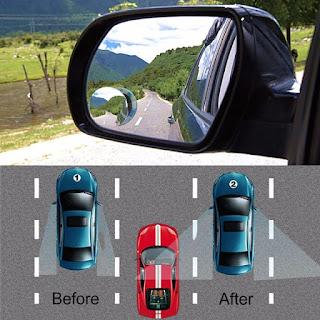 Simulasi Menggunakan Blindspot Mirror - Catatan Nizwar