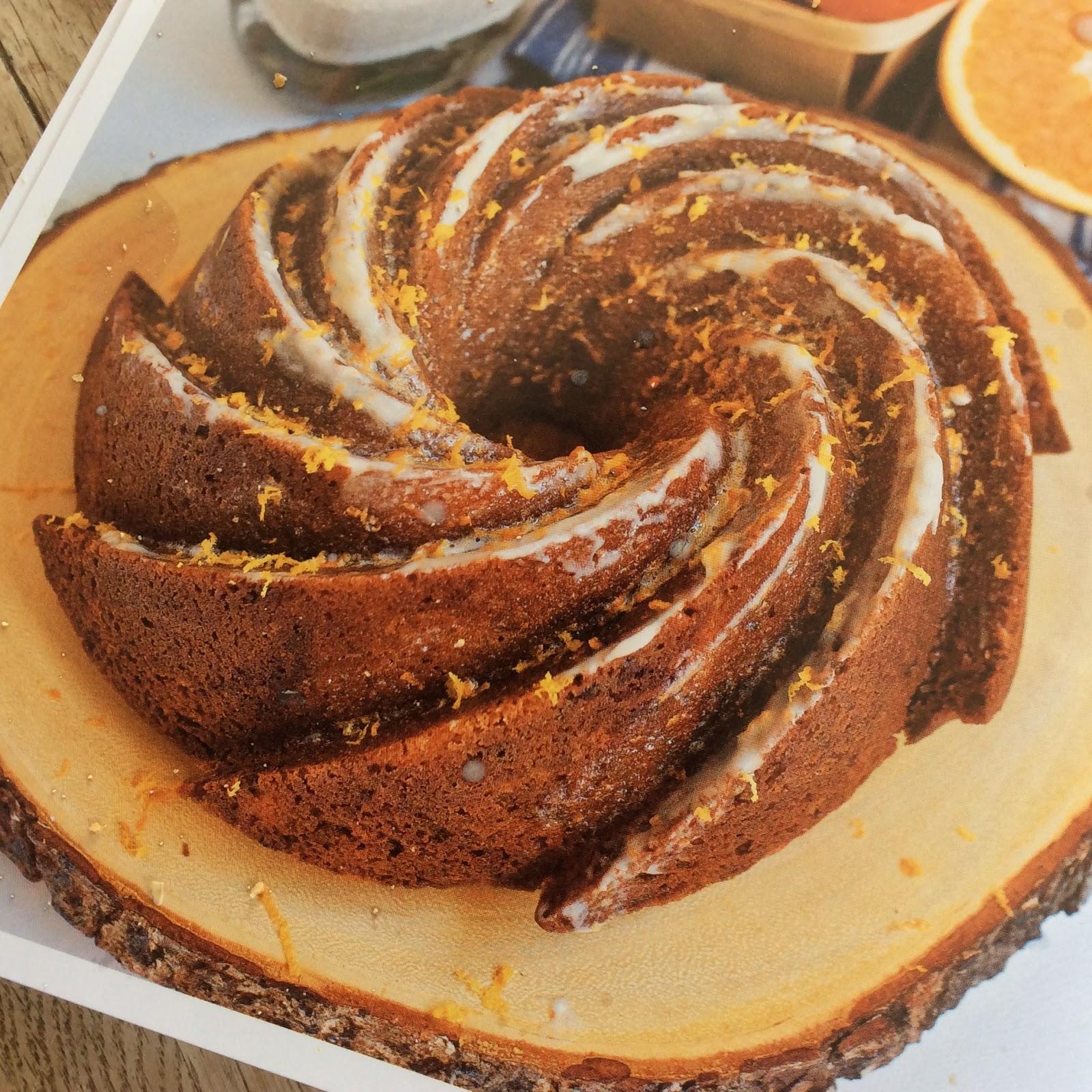 Fan My Flame: A Marbled Chocolate Orange Bundt Cake
