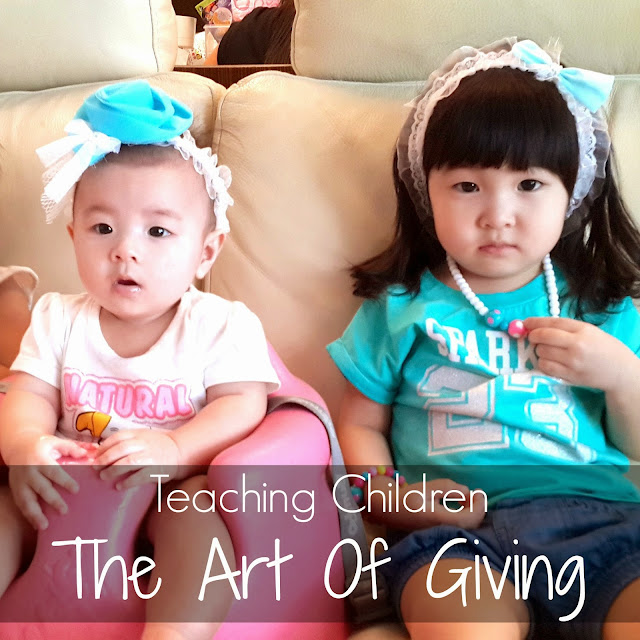 f33de1c13a Teaching Children The Act Of Giving + Win  100 Voucher For You and A Friend!