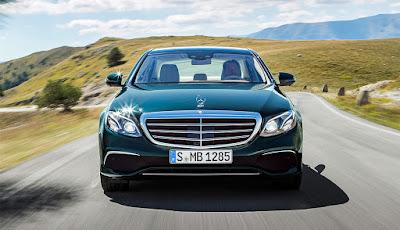 Mercedes-Benz E-Class front look hd image