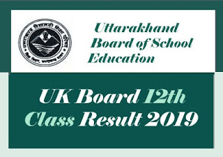 UBSE Result 2019, Uttarakhand Intermediate Result 2019, UK Intermediate Result 2019, UK 12th Result 2019