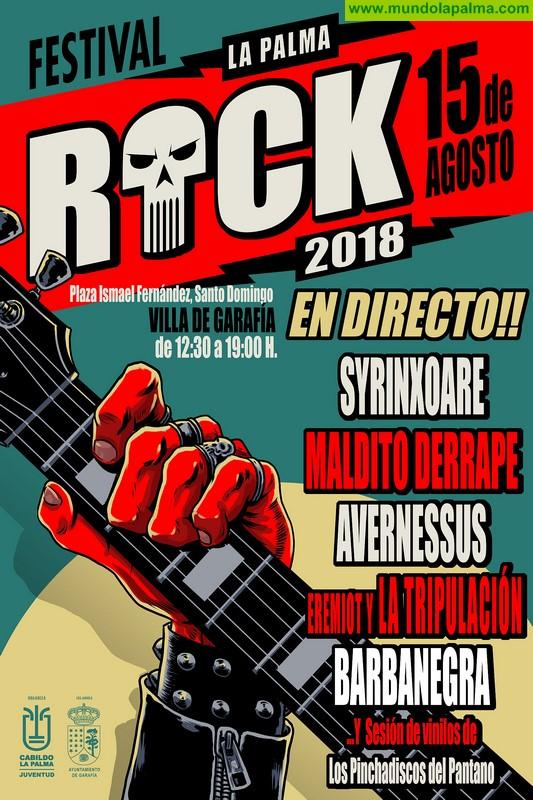 El Cabildo celebra en agosto la primera edición del festival 'La Palma Rock'