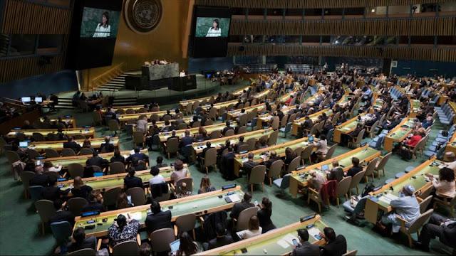 ONU aprueba resolución contra violencia israelí en Gaza