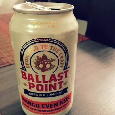 Ballast Point Mango Even Keel | A Hoppy Medium