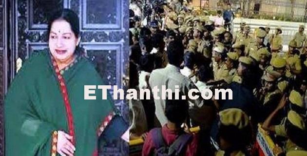 ஜெயலலிதா அறையில் சோதனையா?- வருமான வரித்துறை   Is the test in Jayalalithaa's room? - Income Taxes !