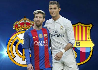 Real Madrid x Barcelona - El Clásico 2017