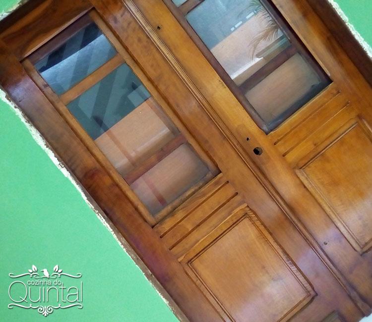 Uma porta, pela qual eu sou apaixonada.