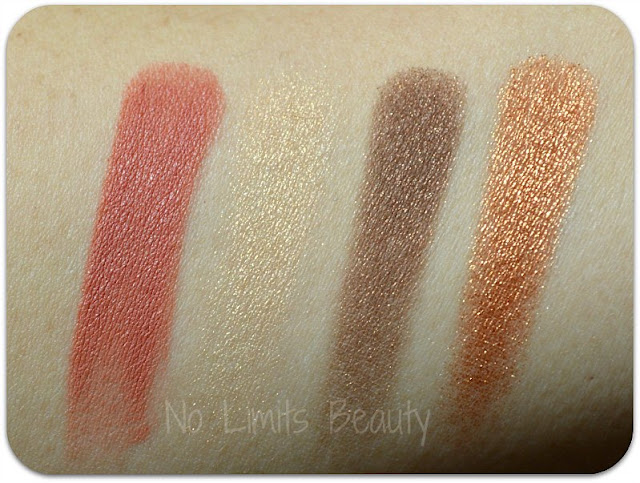 Ipsy Diciembre 2015: swatches