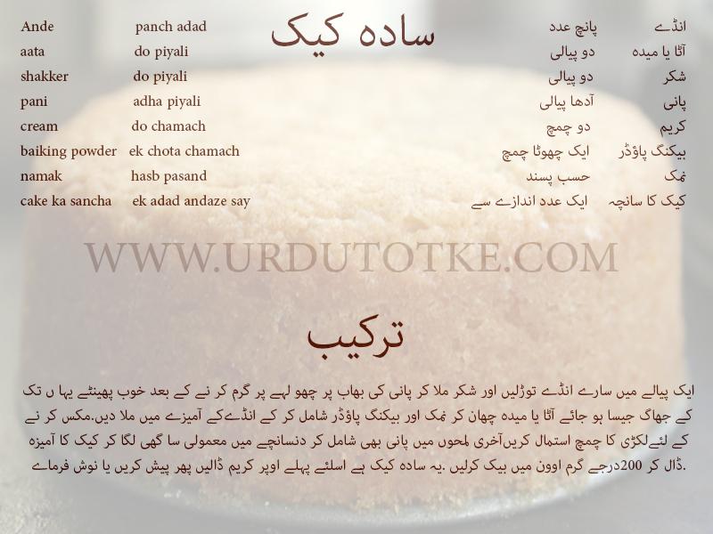 Freezer Cake Recipe In Urdu: Frozen Parathay In Urdu