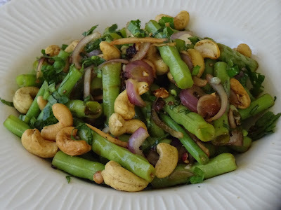 Yardlong bean salad