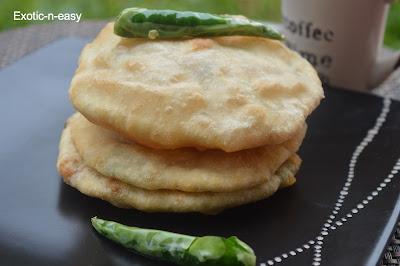 Stuffed Bhatura