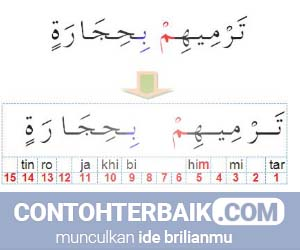 Contoh Ikhfa
