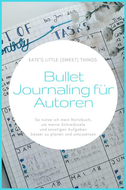 Bullet Journaling für Autoren   So nutze ich mein Notizbuch, um meine Schreibziele und sonstigen Aufgaben besser zu planen und umzusetzen