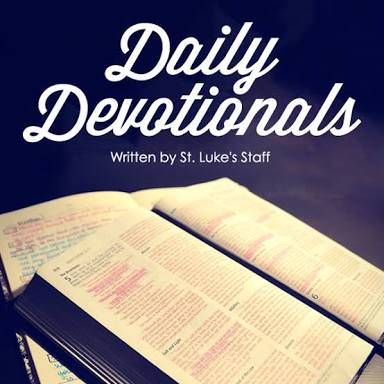 Today's Devotion (Thursday)