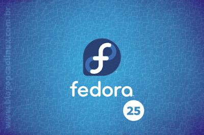 Lançado o Fedora 25!