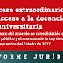 La Federación de Enseñanza de CCOO lluita perquè les oposicions que es convocaran el 2018 permetin una reducció real de la temporalitat