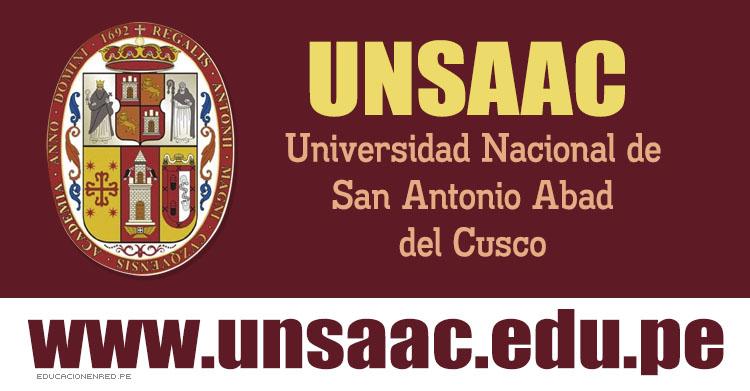 Admisión UNSAAC 2017 (Examen 26 Febrero) Inscripción de Postulantes - Universidad Nacional de San Antonio Abad del Cusco - www.unsaac.edu.pe