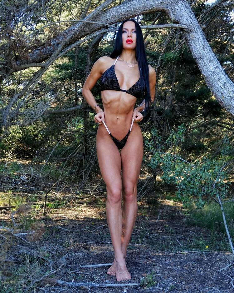 Xenia Sheveleva Russian Bikini fitness model
