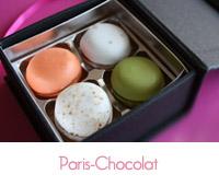 mini macaronia de Paris Chocolat