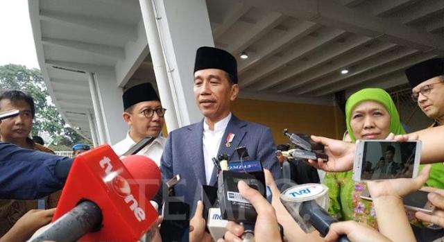 Suara Anti Hoaks di Harlah Muslimat NU 2019, Jokowi: Perlawanan