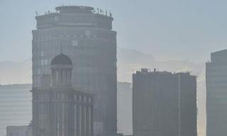 Santiago de Chile contaminacion