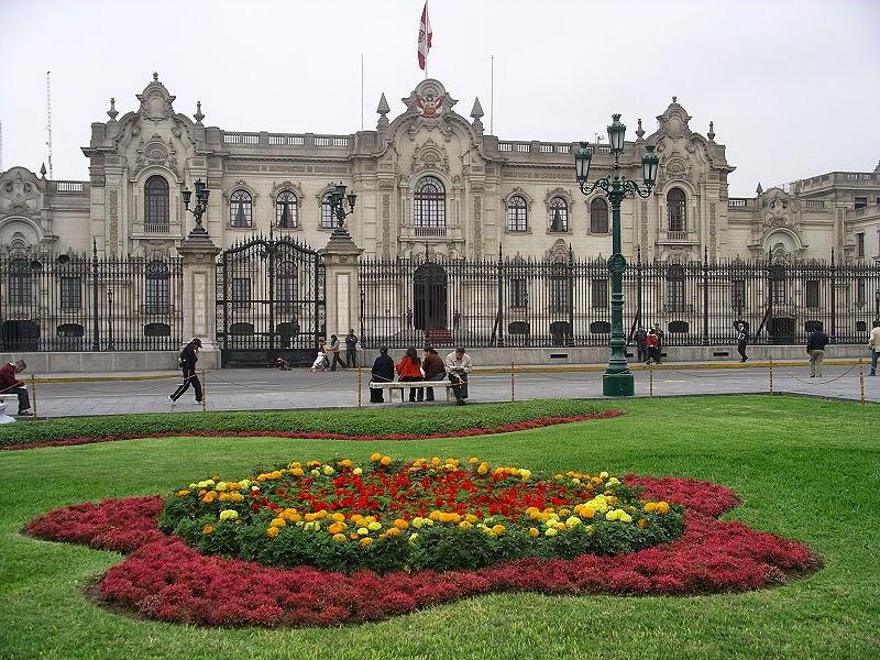 Palácio do Governo em Lima Peru