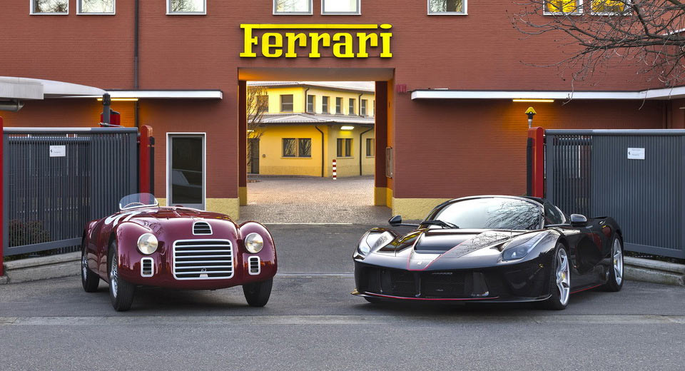 Ferrari's 70th Birthday Party has Officially Begun