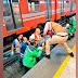 Tras discusión, hombre avienta a policía a vías del Metro y muere arrollado