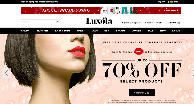 Luxola.com Online Shopping - Makeup Haul ft Zoeva