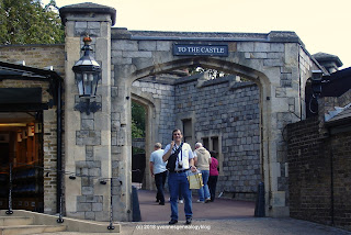 Windsor Castle's visitors' entrance