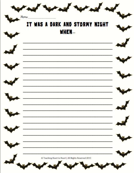 descriptive essay on a stormy night