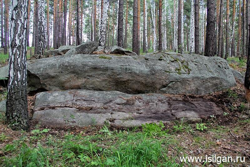 Анбашская каменоломня. Челябинская область
