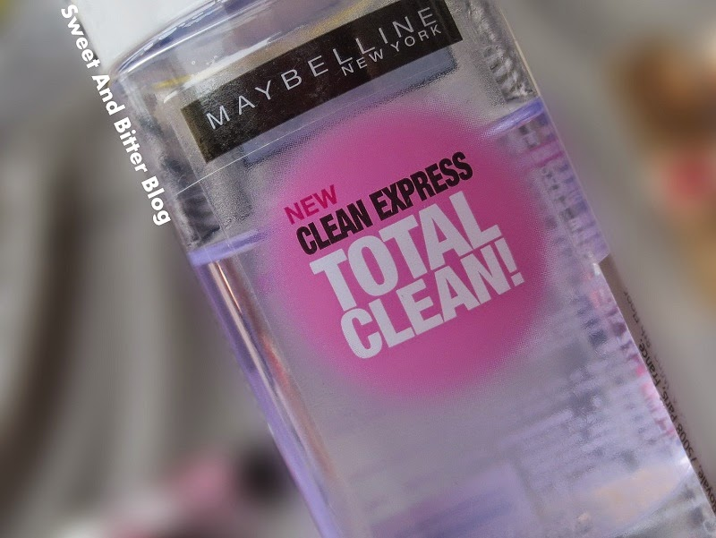 NEW Maybelline Clean Express Total Clean! Eye and Lip Makeup Remover Review