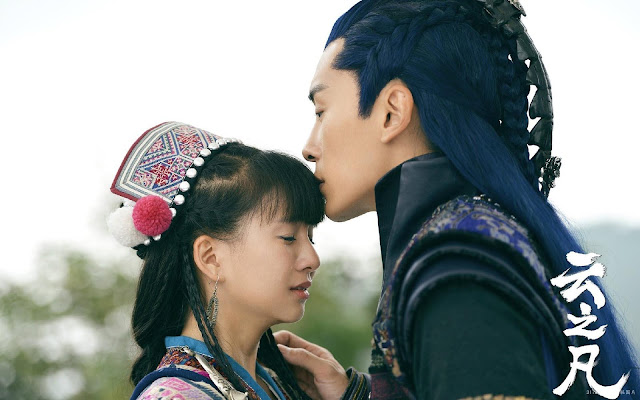 Xiao Cai Qi and Joe Cheng in Chinese Paladin 5 Yun Zhi Fan