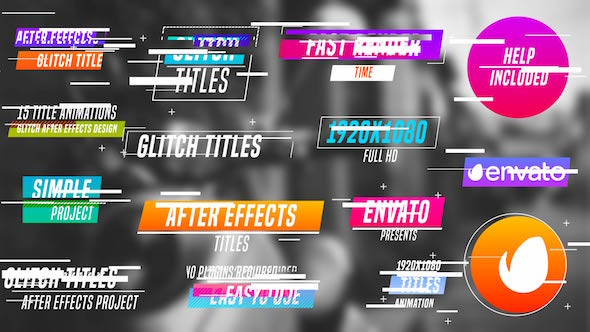 Preview%2BImage%2B%25281%2529 Colourful Glitch Titles Videohive – Free Download AE Project download