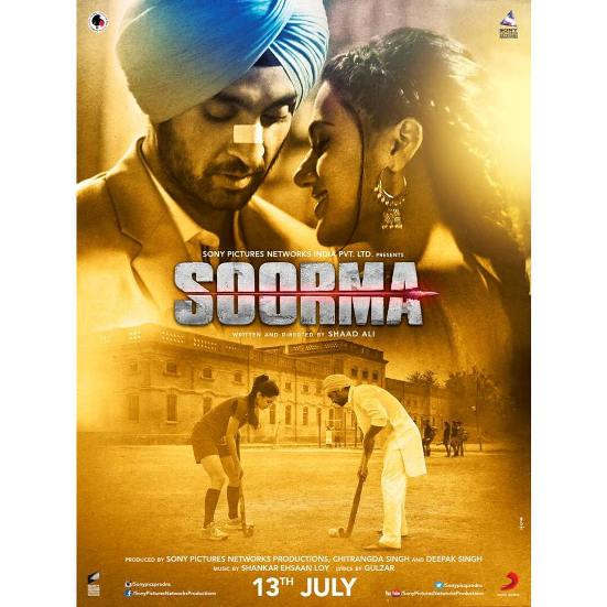 full cast and crew of Bollywood movie Soorma 2018 wiki, Sanjay Dutt, Arshad Warsi The Great story, release date, Soorma wikipedia Actress name poster, trailer, Video, News, Photos, Wallpaper