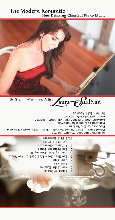 #MusicAlbumReview: The Modern Romantic: New Relaxing Classical Piano Music by Laura Sullivan