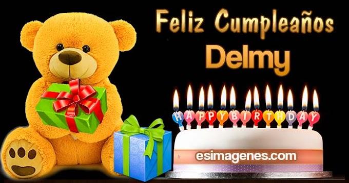 Feliz Cumpleaños Delmy