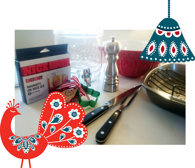 Range of Christmas cookware