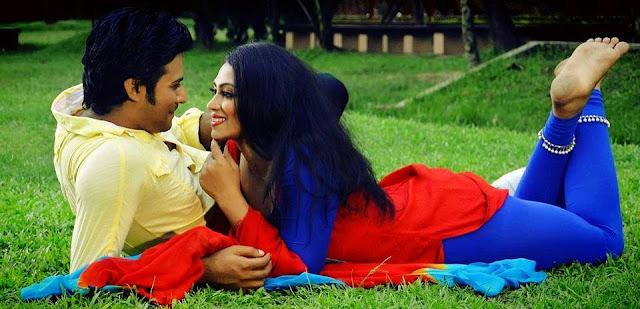 Sadika Parvin Popy and Afran Nisho Very Romantic Photo