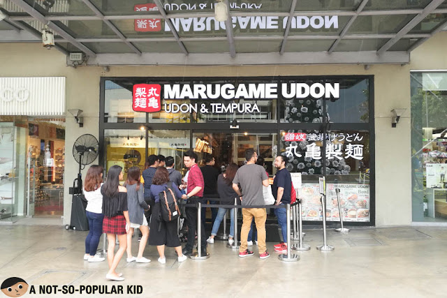 Marugame Udon in Bonifacio High Street