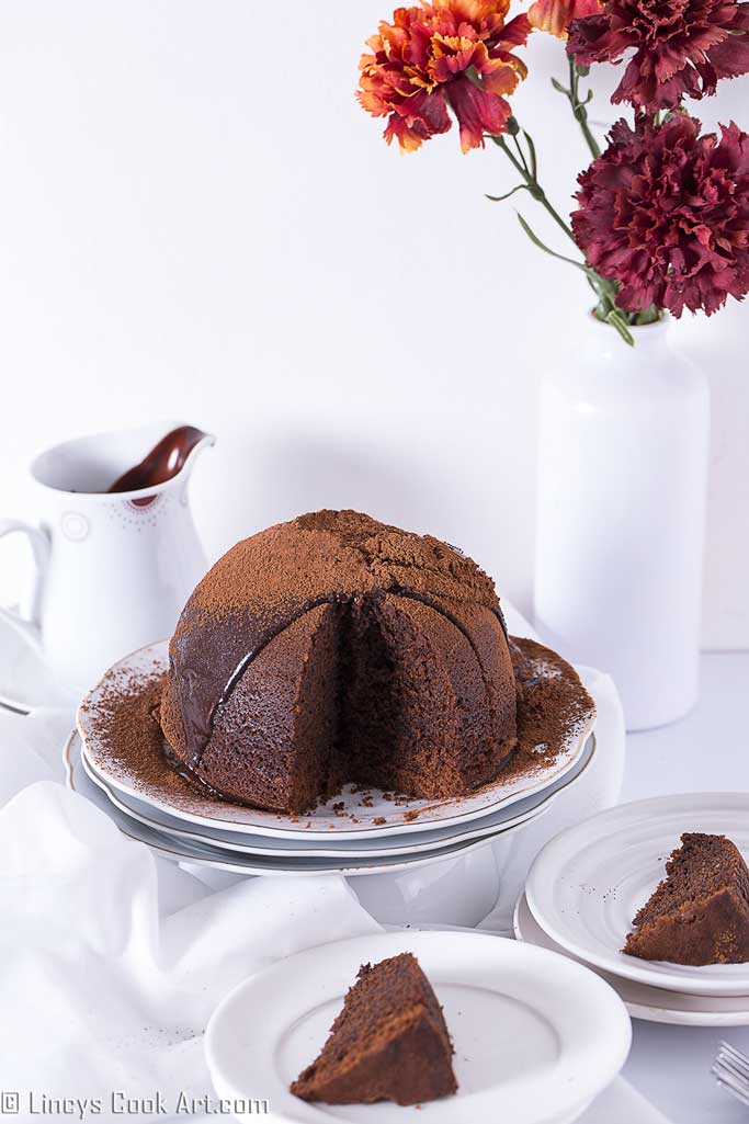 How to prepare steamed chocolate pudding