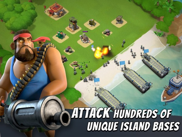 Boom Beach Apk MOD Version for Android