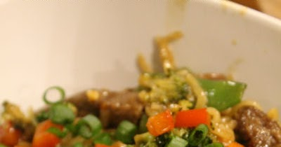 Fantastical Sharing Of Recipes Beef And Broccoli Noodle Bowls