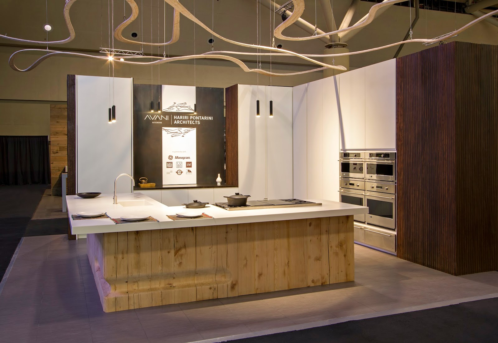AVANI Kitchens - Handmade Meets High-Tech at IDS15 / .@avanikitchens ...